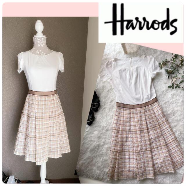 Harrods(ハロッズ)の♡ハロッズ 切り替えワンピース♡ レディースのワンピース(ひざ丈ワンピース)の商品写真