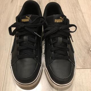 PUMA - Puma プーマ コートポイント ブラック 24cm