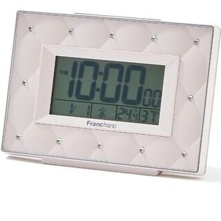 フランフラン(Francfranc)のfrancfranc アビスコ電波デジタルクロック(置時計)