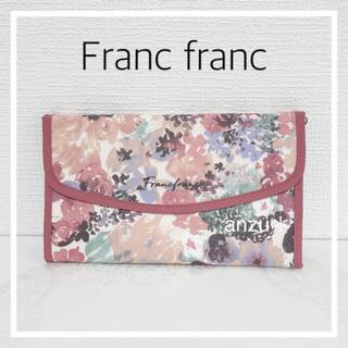 フランフラン(Francfranc)のフランフラン マルチケース 花柄ピンク(ポーチ)