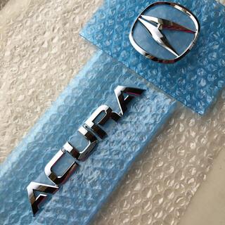 ホンダ(ホンダ)のACURA アキュラ エンブレムセット 新品、未使用品(車外アクセサリ)