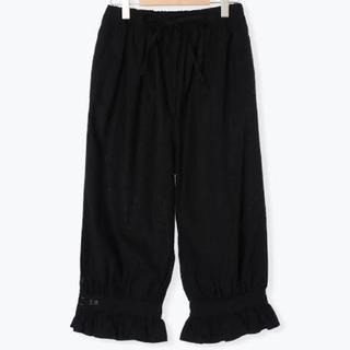 SM2 - サマンサモスモス 35th SA刺繍パンツ ペチパンツ フリル※ブラック