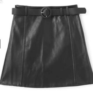 グレイル(GRL)のインパン付きレザーミニスカート(ミニスカート)