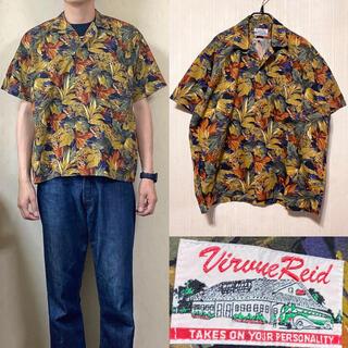 サンサーフ(Sun Surf)の90's 総柄 開襟シャツ オープンカラーシャツ ボタニカル柄(シャツ)