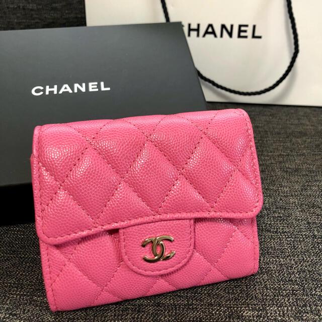 CHANEL(シャネル)のCHANEL シャネル♡マトラッセ ミニ財布 レディースのファッション小物(財布)の商品写真