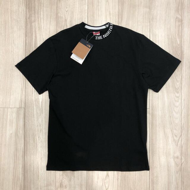 THE NORTH FACE(ザノースフェイス)の【海外限定】新作 ノースフェイス レディース リブロゴ Tシャツ ブラック S レディースのトップス(Tシャツ(半袖/袖なし))の商品写真