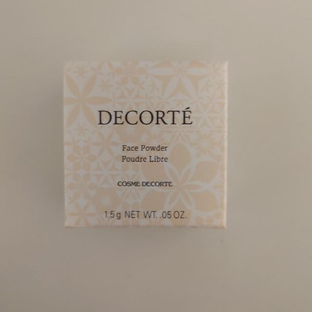COSME DECORTE(コスメデコルテ)のコスメデコルテ フェイスパウダー ミニサイズ コスメ/美容のベースメイク/化粧品(フェイスパウダー)の商品写真