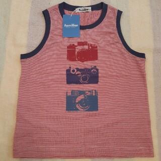 ファミリア(familiar)のfamiliarタンクトップ サイズ120(Tシャツ/カットソー)