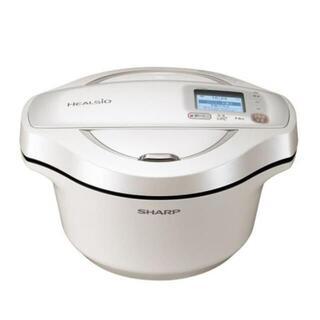 ホットクック KN-HW24F-W 水なし自動調理鍋 HEALSIO
