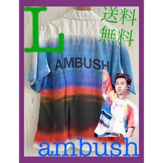 アンブッシュ(AMBUSH)の【 Lサイズ】BTS RM氏着用 希少モデル ambush アロハシャツ(シャツ)