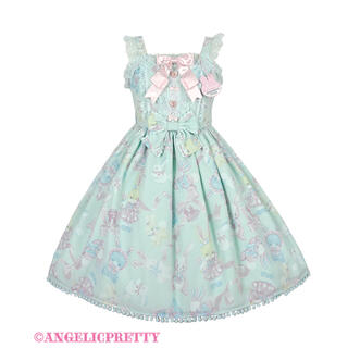 Angelic Pretty - Angelic Pretty Moco moco bunnysJSK 限定ミント