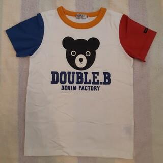 DOUBLE.B - DOUBLE.B ダブルビー Tシャツ サイズ120