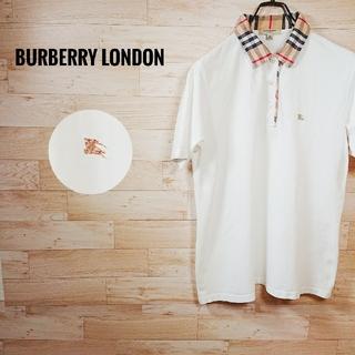 バーバリー(BURBERRY)のバーバリー ロンドン ポロシャツ ノバチェック ホースロゴ(ポロシャツ)