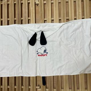 SNOOPY - スヌーピーフードつきバスタオル
