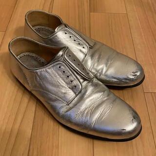 ナンバーナイン(NUMBER (N)INE)のNumber(n)ine シルバープレーントゥ(ローファー/革靴)