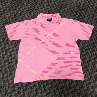 バーバリー(BURBERRY)のBurberry Golf ポロシャツ レディース Lサイズ(ポロシャツ)
