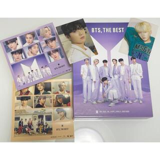 ボウダンショウネンダン(防弾少年団(BTS))のBTS 【THE BEST】初回限定盤C FC限定盤トレカ(SUGA)2枚付き(K-POP/アジア)