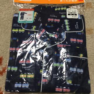 ニシマツヤ(西松屋)の新品 ネル長袖パジャマ 110cm 綿100% 前開きパジャマ②(パジャマ)