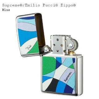 シュプリーム(Supreme)のSupreme Emilio Pucci ZippoBlue ブルー 青(タバコグッズ)