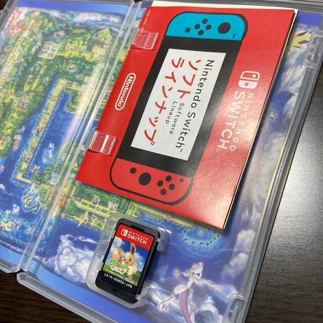 Nintendo Switch(ニンテンドースイッチ)のSwitch ポットモンスター レッツゴー イーブイ エンタメ/ホビーのゲームソフト/ゲーム機本体(家庭用ゲームソフト)の商品写真