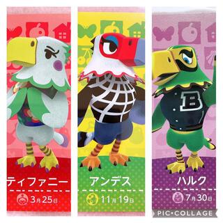 ニンテンドースイッチ(Nintendo Switch)のどうぶつの森 amiibo カード アミーボ  鳥(カード)