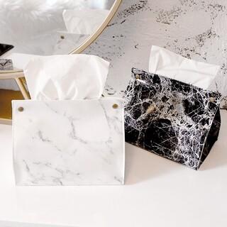 Francfranc - 大理石柄 ティッシュボックス