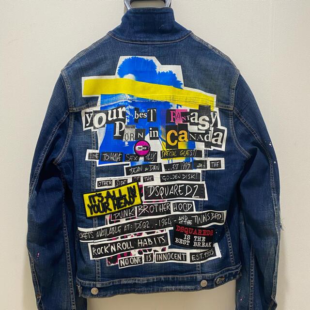 DSQUARED2(ディースクエアード)の【美品】DSQUARED2  Gジャン メンズのジャケット/アウター(Gジャン/デニムジャケット)の商品写真