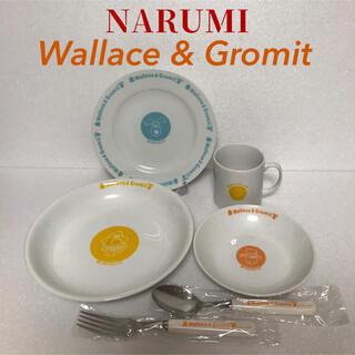 ナルミ(NARUMI)の非売品[未使用] ナルミ×Wallace&Gromit  プレートセット(食器)
