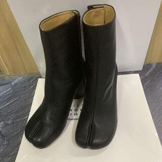 マルタンマルジェラ(Maison Martin Margiela)の足袋ブーツ 37 black メゾンマルジェラ(ブーツ)