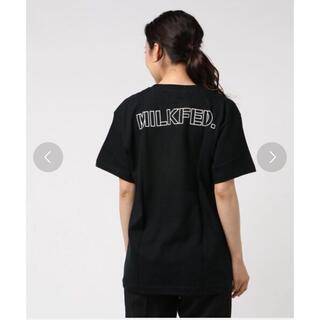 ミルクフェド(MILKFED.)の新品!MILKFED. ★SS TEE BACK BIG LINE Tシャツ(Tシャツ(半袖/袖なし))