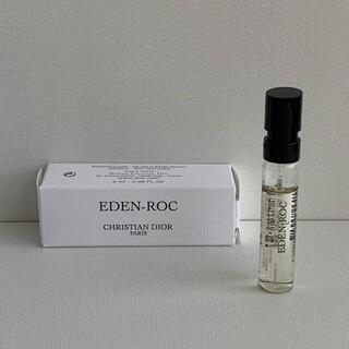 ディオール(Dior)の【クリスチャンディオール】エデンロック EDP サンプル 2ml 巾着付★最新作(ユニセックス)