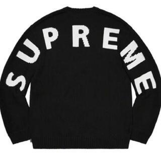 シュプリーム(Supreme)のSupreme Back Logo Sweater Black XL(ニット/セーター)