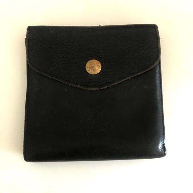 IL BISONTE(イルビゾンテ)のILBISONTE ネイビー 財布 レディースのファッション小物(財布)の商品写真