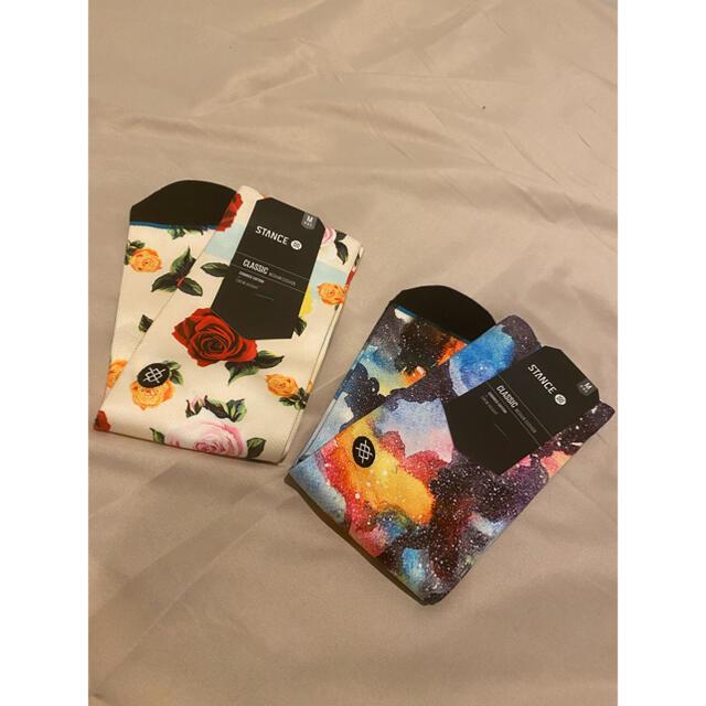 Supreme(シュプリーム)のstance スタンス 未使用 靴下 2点セット サイズM レディースのレッグウェア(ソックス)の商品写真