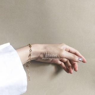 BEAMS BOY - 【再入荷】heart gold bracelet ◆ ラスト1点