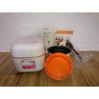 タイガー(TIGER)のタイガー魔法瓶 IH 炊飯器 3.5合炊き ふたりのtacook(炊飯器)