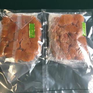 紅梅園 紀州南高梅 つぶれ梅(うす塩味)400g×2袋 塩分8%(漬物)