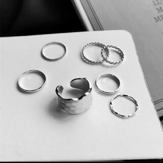 シルバーリング 7点セット(リング(指輪))