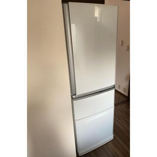 ミツビシ(三菱)の【マイライフ様専用】三菱ノンフロン冷凍冷蔵庫(冷蔵庫)