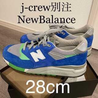 ニューバランス(New Balance)の【即日発送】NewBalance j-crew M998 MADE in USA(スニーカー)