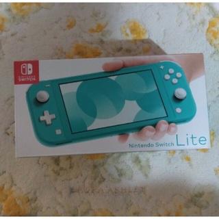 ニンテンドースイッチ(Nintendo Switch)の【新品未使用】Nintendo Switch lightターコイズ(家庭用ゲーム機本体)