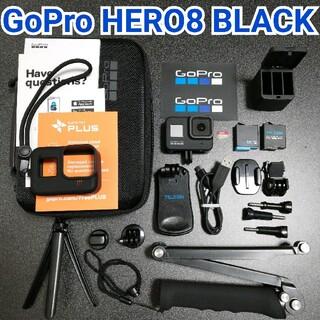ゴープロ(GoPro)の【お得セット】GoPro HERO8 BLACK✨充電器&予備バッテリー付(ビデオカメラ)