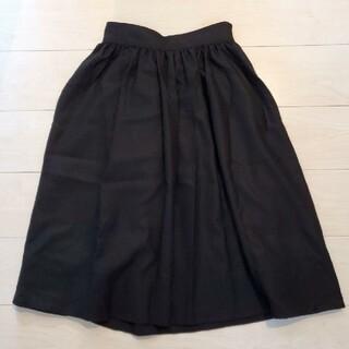 ロペ(ROPE)の【ROPE' mademoiselle】ギャザースカート 定価16200円(ひざ丈スカート)