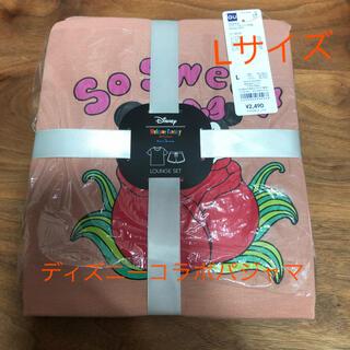 ジーユー(GU)のGU ディズニーコラボパジャマ Lサイズ 新品未使用 ルームウェア(ルームウェア)