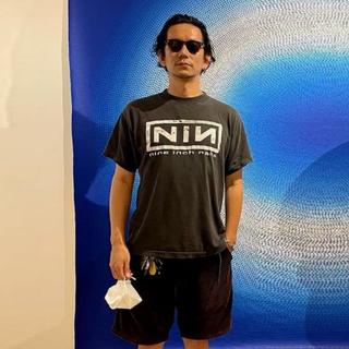野村訓市着用|80s Nine Inch Nails Tee [XL]