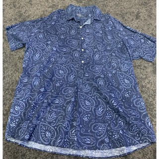 POLO RALPH LAUREN - [美品]ポロ ラルフローレン ネイビー アロハシャツ XLサイズ
