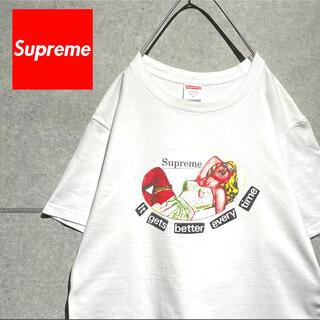 Supreme - supreme シュプリーム USA製 ロゴプリント Tシャツ