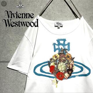 ヴィヴィアンウエストウッド(Vivienne Westwood)のヴィヴィアン ウエストウッド  オーブロゴ オーバーサイズ Tシャツ(Tシャツ/カットソー(半袖/袖なし))