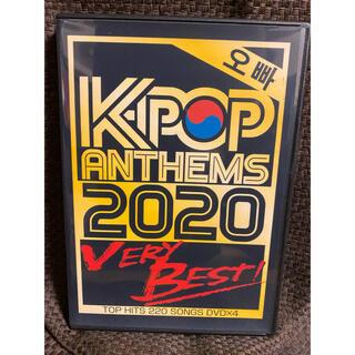 K POP ANTHEMS 2020 VERY BEST!男性版!4枚組DVD