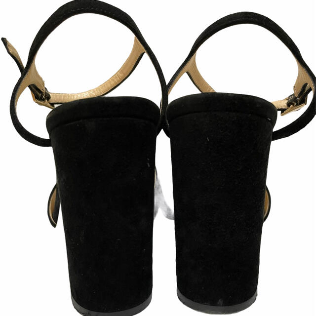 FABIO RUSCONI(ファビオルスコーニ)の【美品】ファビオルスコーニ スエード ヒール サンダル サイズ37 レディースの靴/シューズ(サンダル)の商品写真